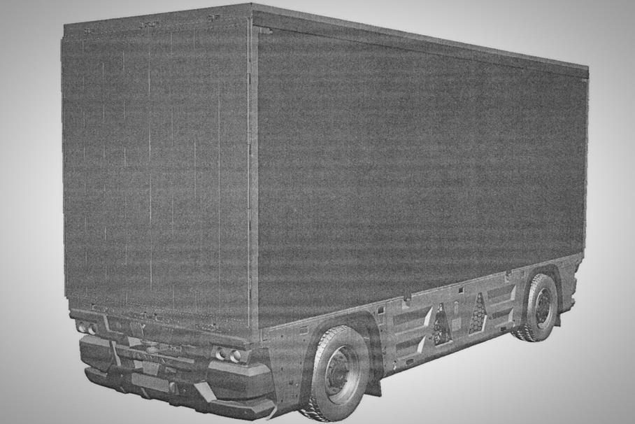 """На базе """"КАМАЗА"""" создали безкабинный электромобиль"""