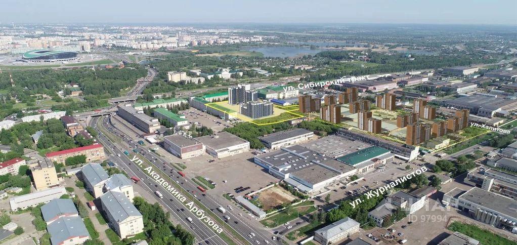 Компания ASG пытается продать в Казани запланированную под постройку ЖК землю