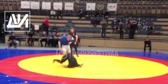 Борец из Дагестана сломал шею на Кубке мира – его парализовало (ВИДЕО)