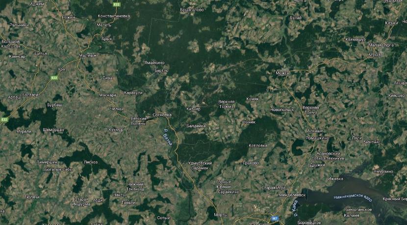 Татарстан и Удмуртия согласовывают границу регионов, проходящую около Агрыза