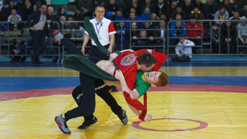 Турнир по борьбе корэш в Татарстане посвятили памяти Мусы Джалиля