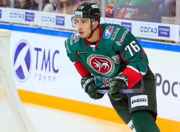 Экс-форвард «Ак Барса» Чибисов отметился «хитом» в первом матче в НХЛ
