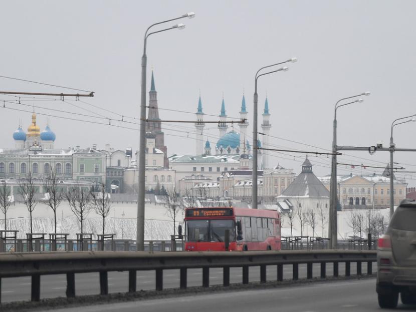 В Казани изменена схема движения автобусного маршрута №89