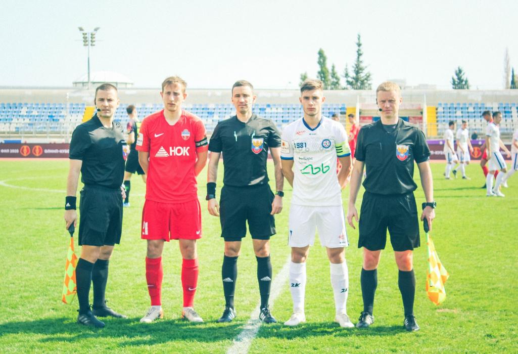 Караев был удален за симуляцию в матче «КАМАЗа» с «Енисеем»