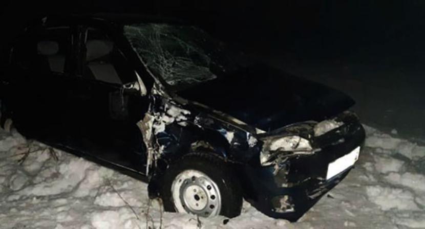 Несовершеннолетний водитель разбился насмерть в Татарстане минувшей ночью