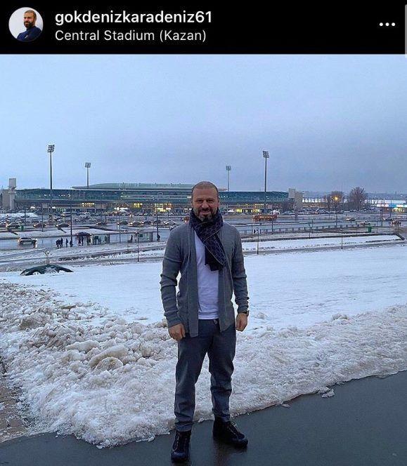Экс-игрок «Рубина» Карадениз посетил Казань с целью достроить мечеть