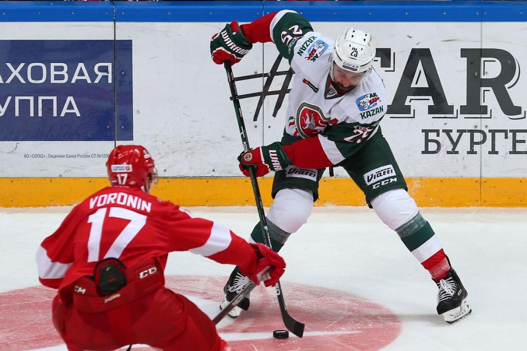 «Ак Барс» выйдет на первое место в КХЛ, если обыграет «Спартак» в Москве