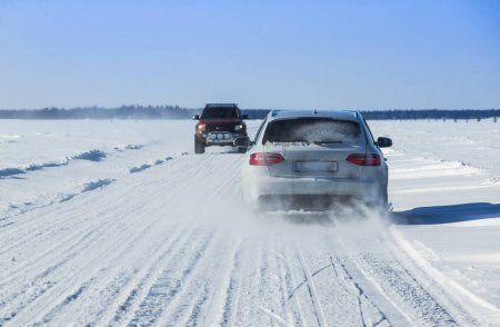 В Татарстане вновь возобновили ледовые переправы