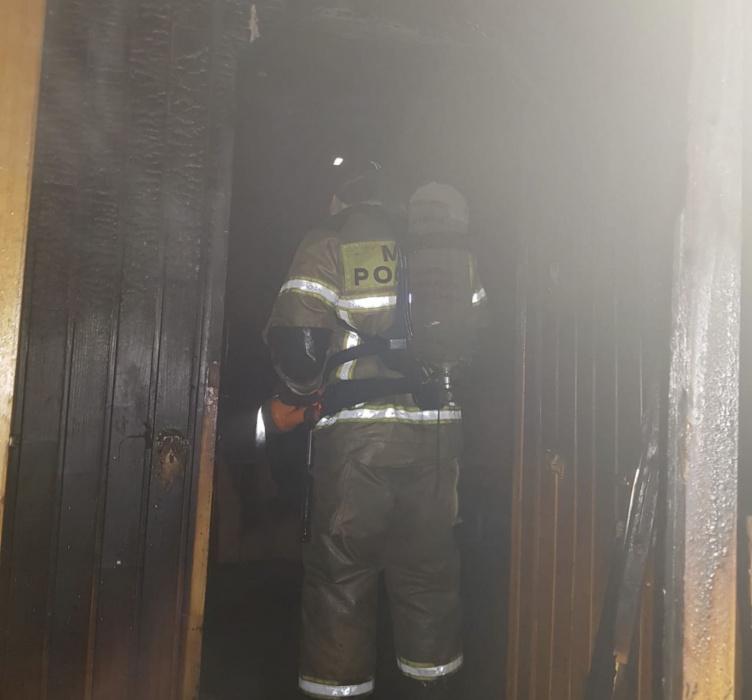 В Елабуге от пожара в 9-этажном доме спасли 24 человека