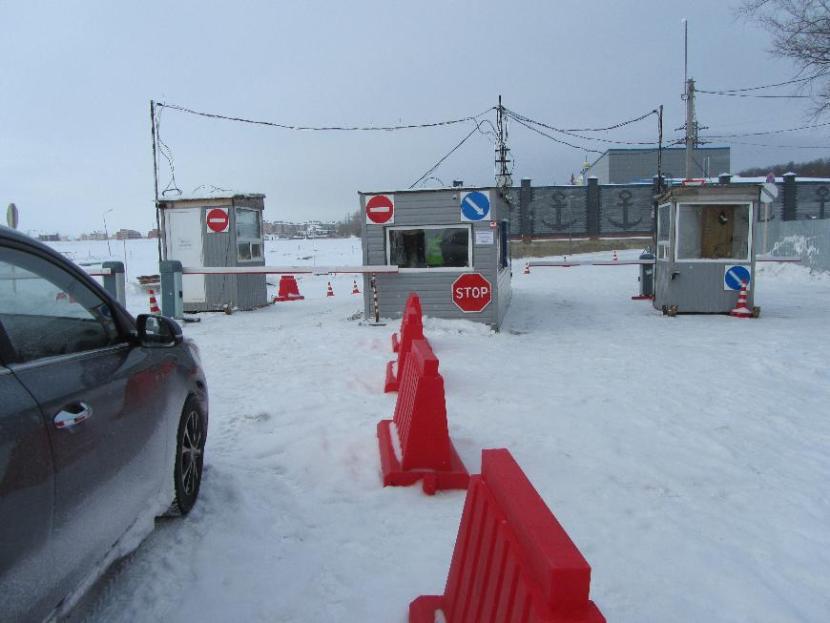 В Татарстане вновь закрыли ледовые переправы через Волгу и Каму