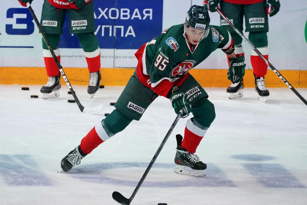 Артем Галимов заменит Кормье в первом звене «Ак Барса» на матч против «Салавата Юлаева»