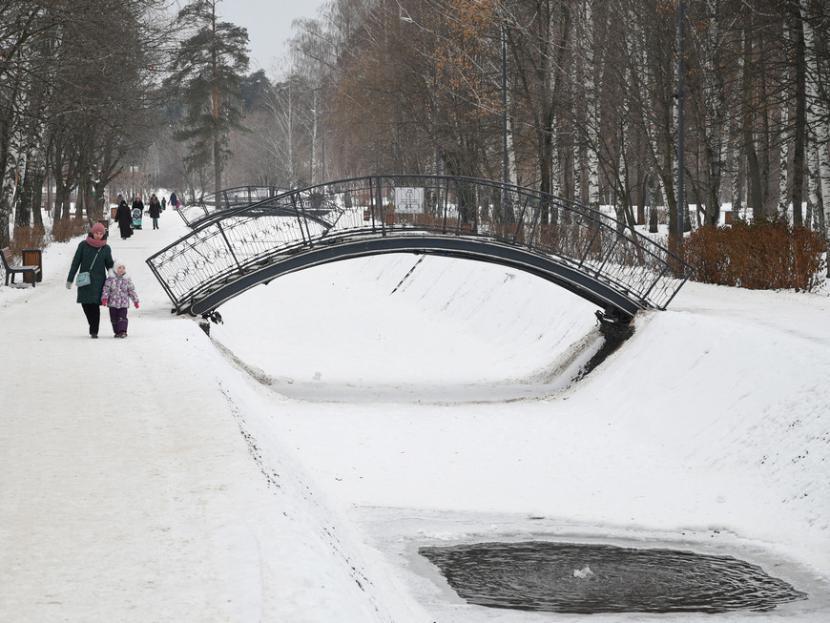 Плюсовая температура и обильные осадки ожидаются в Татарстане 26 февраля