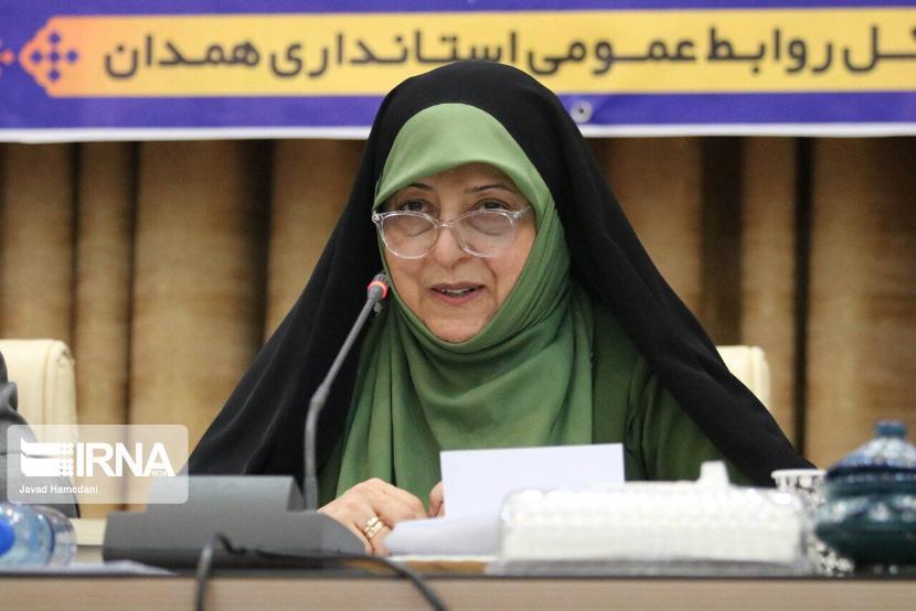 Вице-президент Ирана Масуме Эбтекар заразилась коронавирусом
