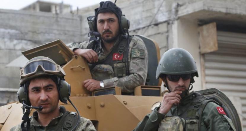 В результате авиаудара в Сирии погибли более 30 военных Турции