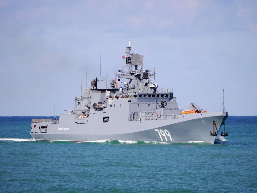 Россия направила к берегам Сирии два фрегата с ракетами «Калибр»