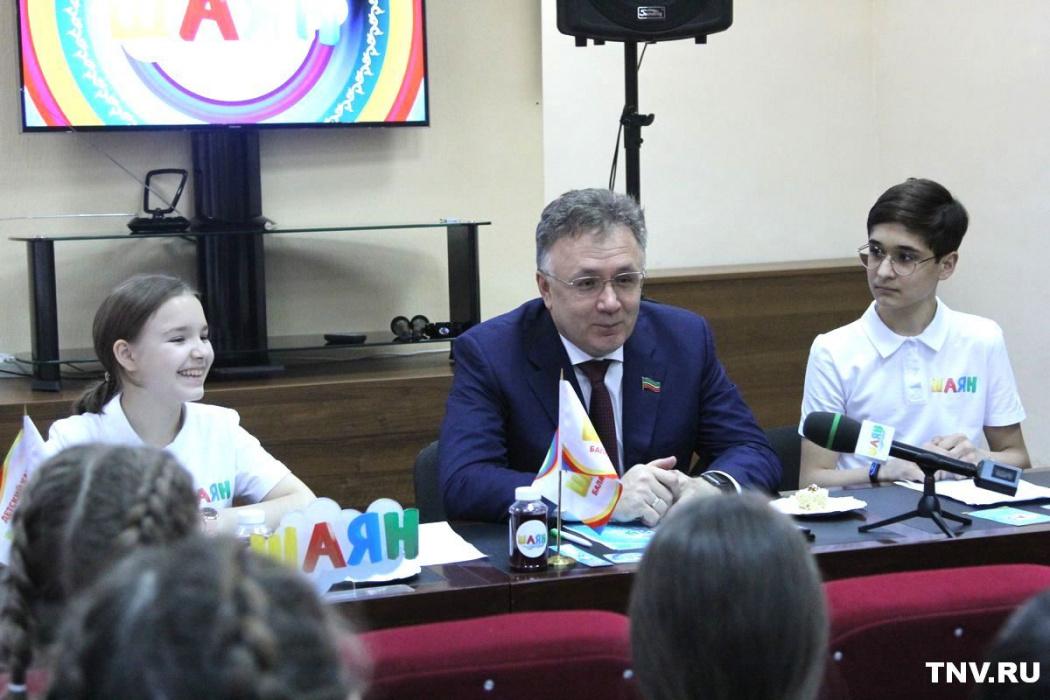Ильшат Аминов: «Вы тоже можете когда-то стать министрами культуры»