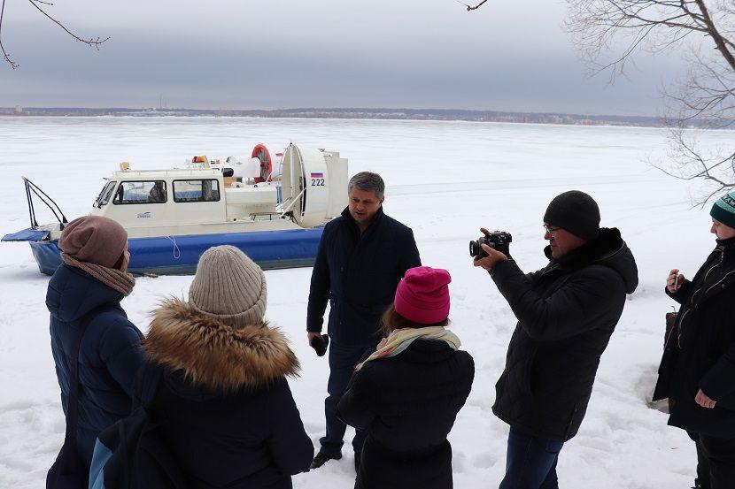 Глава Минэкологии РТ провел экскурсию по заказнику «Волжские просторы»