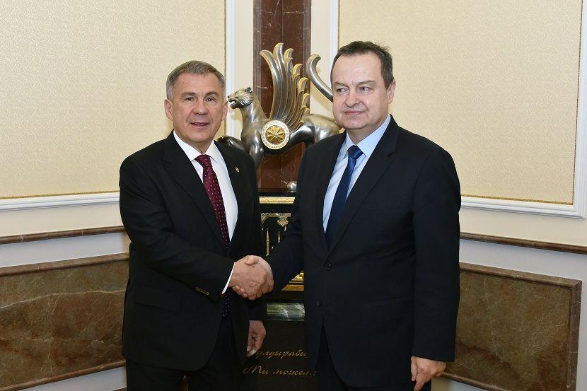 Рустам Минниханов: товарооборот между Татарстаном и Сербией превысил $100 млн