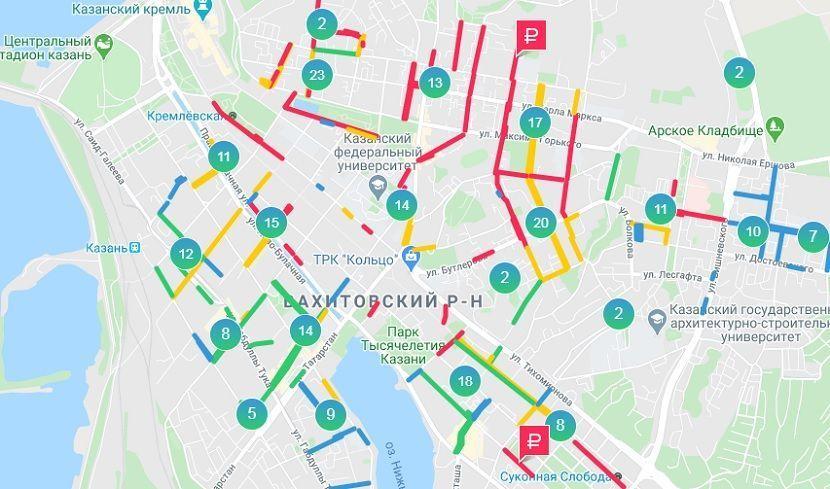 Муниципальные парковки Казани будут работать бесплатно 8 и 9 марта