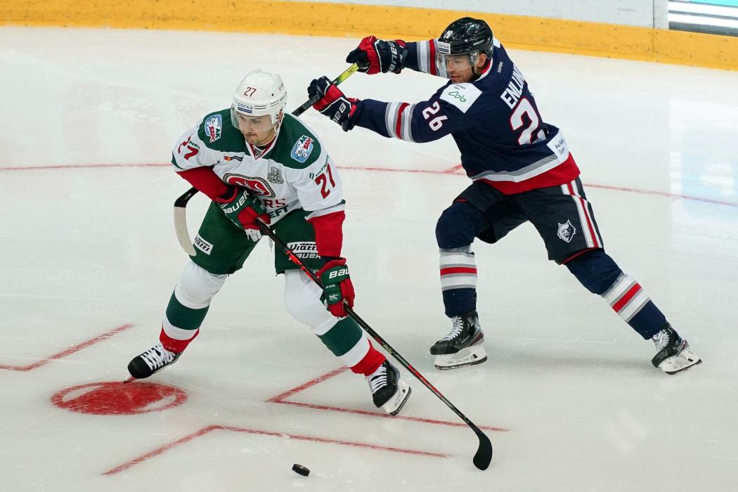 Дубль Эмиля Галимова принес «Ак Барсу» третью победу подряд над «Нефтехимиком»