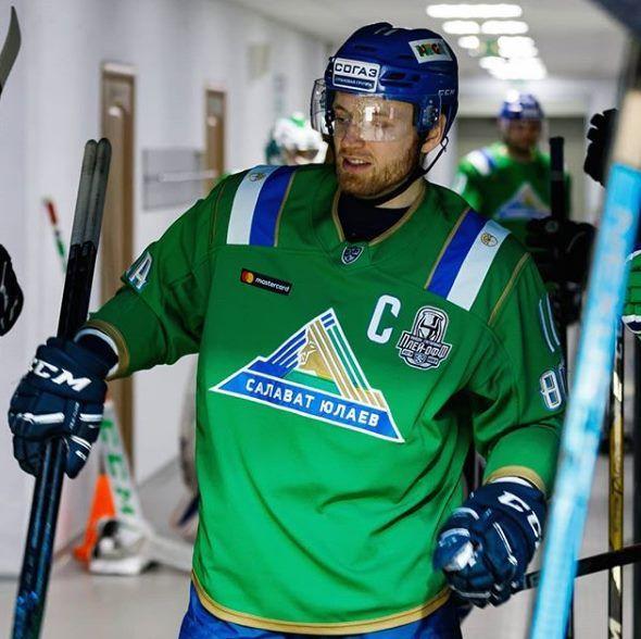 КХЛ дисквалифицировала капитана «Салават Юлаева» Панина перед матчем с «Авангардом»