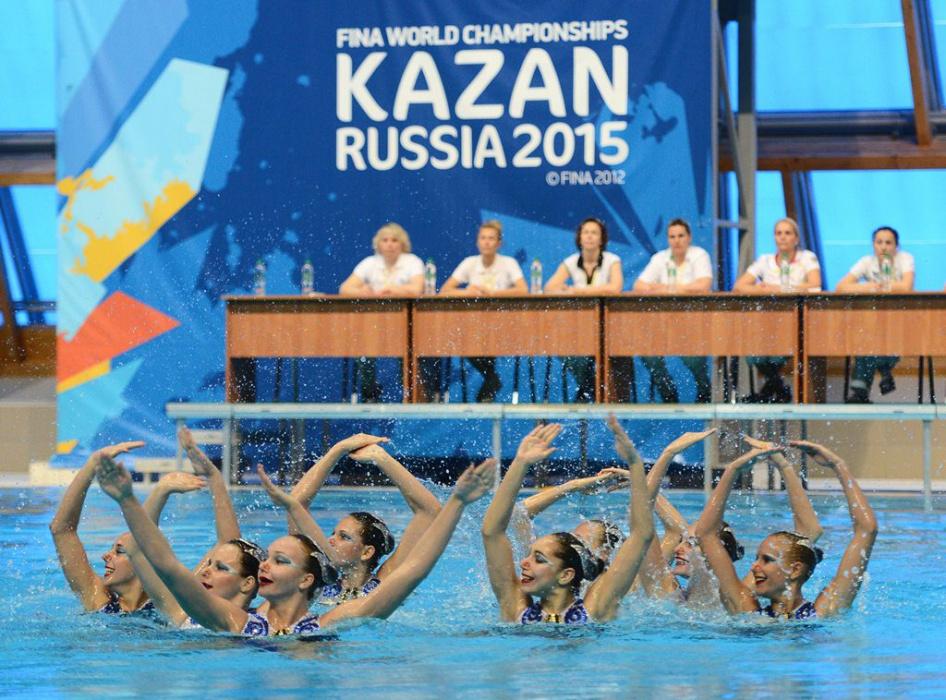 Коронавирус. Китайские спортсмены пропустят этап Мировой серии FINA в Казани