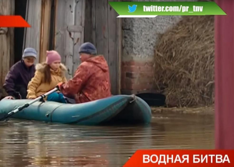 «Кругом вода»: из-за потепления паводок в Татарстан пришёл на месяц раньше