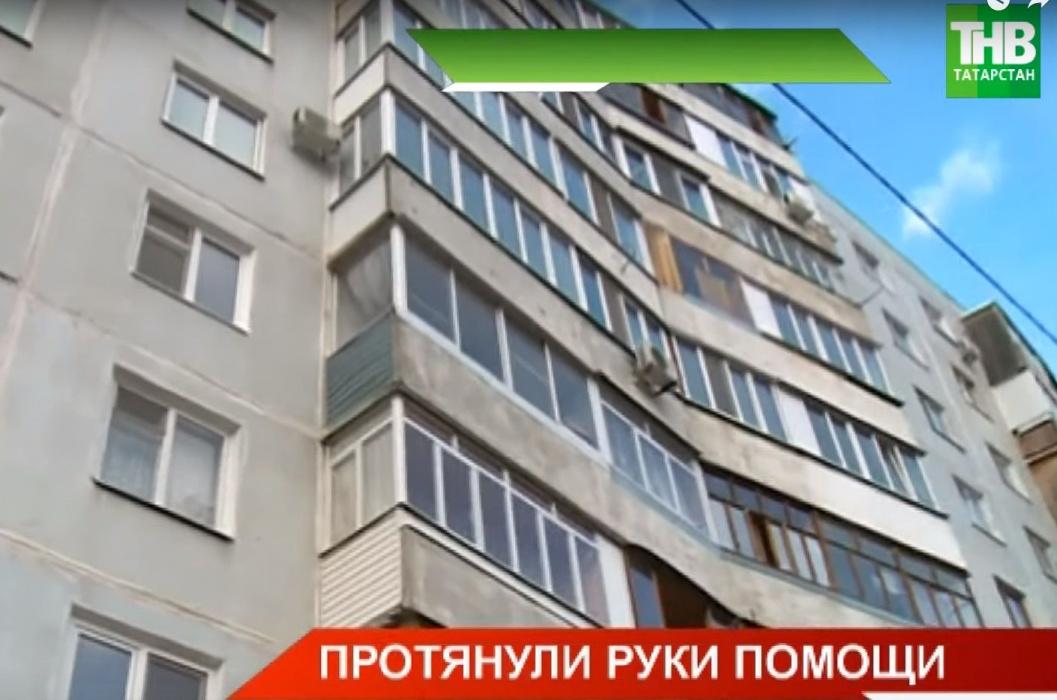 Волонтеры восстанавливают квартиру жительницы Казани, которая сгорела из-за новогоднего салюта