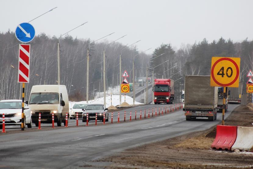 Движение транспорта на татарстанском участке трассы М7 затруднено