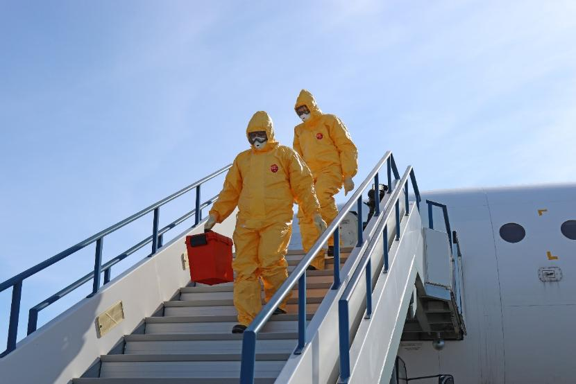 За сутки на родину вернулись 33 россиянина, инфицированные коронавирусом