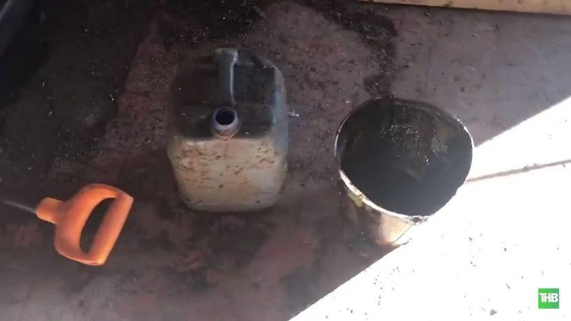 В Татарстане злоумышленники организовали несанкционированный слив нефти