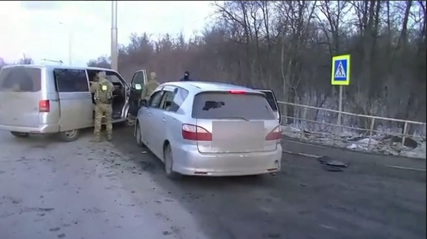 НАК опубликовал видео с места ликвидации вооруженного боевика в Уфе