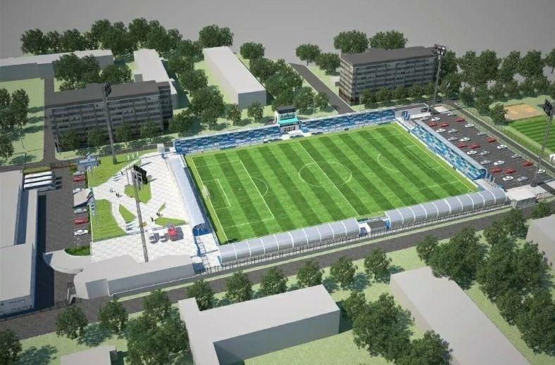 В интернете опубликовали эскизы обновленного стадиона ФК «Нефтехимик»
