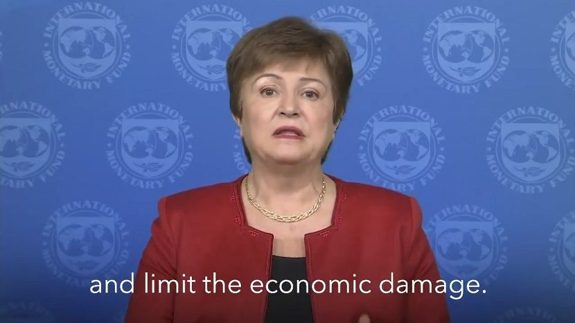 Глава Международного валютного фонда анонсировала всемирную рецессию