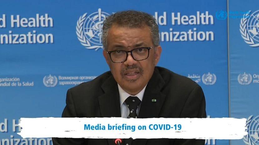Гендиректор ВОЗ предупредил об ускорении пандемии коронавируса в мире