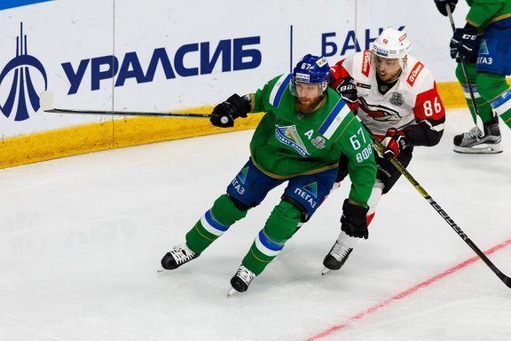 Умарк покинул «Салават Юлаев» ради Швейцарии