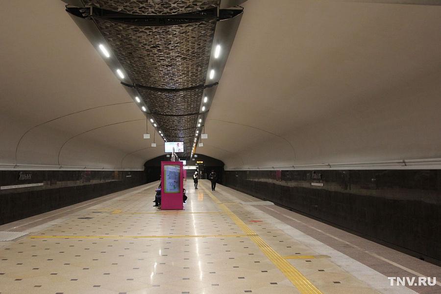 Станция казанского метро