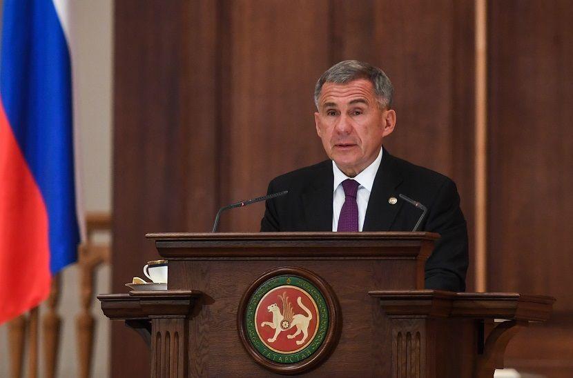 В ближайший час президент Татарстана Рустам Минниханов обратится к населению - видео