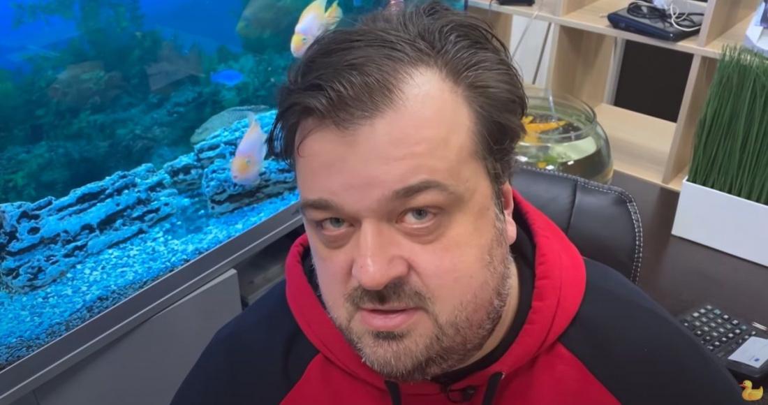 Уткин опубликовал фото Соловьева с оскорбительным подтекстом