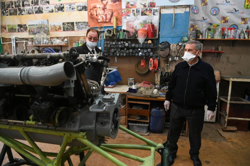 В Татарстане поисковики восстанавливают легендарный бомбардировщик «Пе-2» - видео