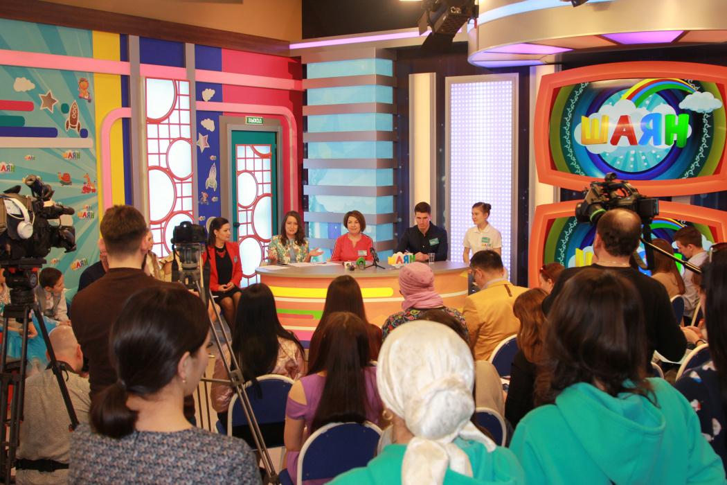 «Главной целью «Шаян ТВ» является общение детей на татарском языке в течении 24 часов»