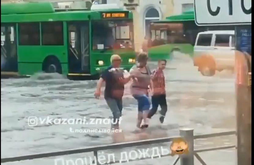 В бюджете Казани не хватает средств на ремонт ливневой канализации
