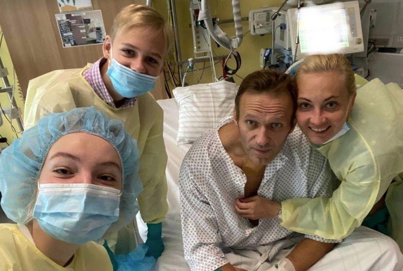 В шведской лаборатории отчитались об анализе проб Навального