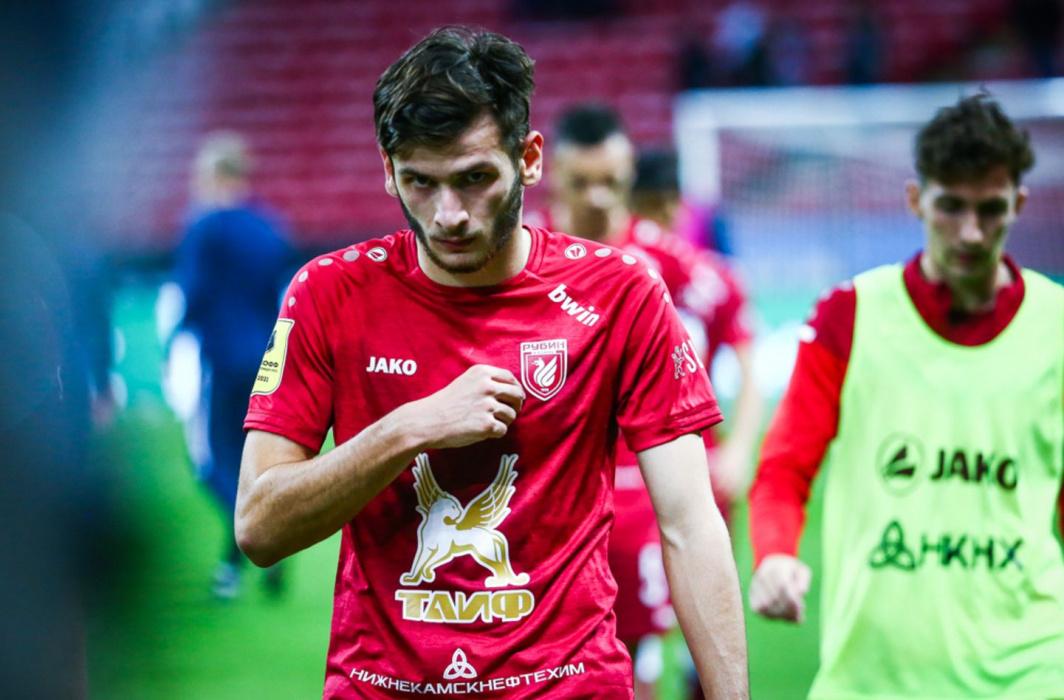 Слуцкий оставил Кварацхелию в запасе «Рубина» на выездной матч с «Краснодаром»