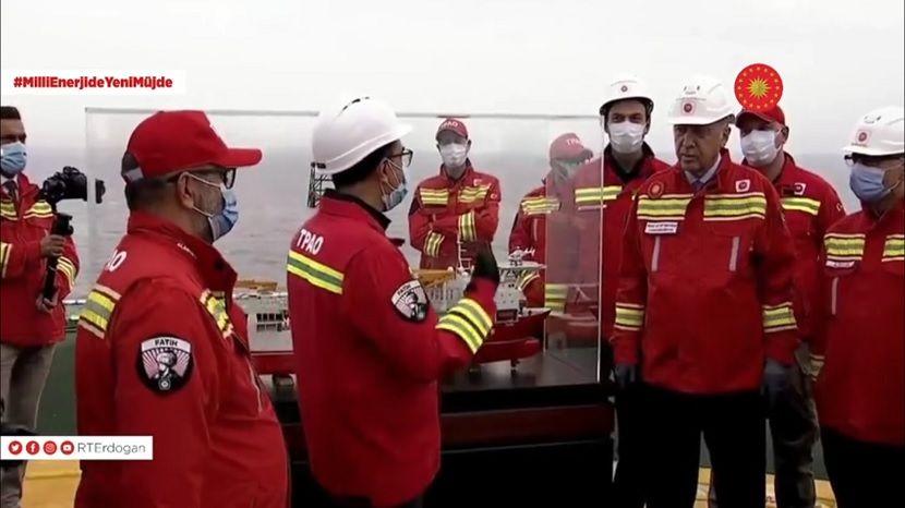 Эрдоган заявил, что Турция нашла новые запасы газа в Черном море
