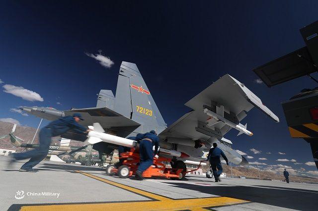 Китай оснастил свои истребители ракетами для уничтожения российских С-400