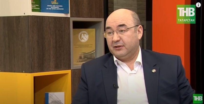 Радиф Замалетдинов: «Я больше чем уверен, что будущее за билингвальными и полилингвальными учителями» - видео