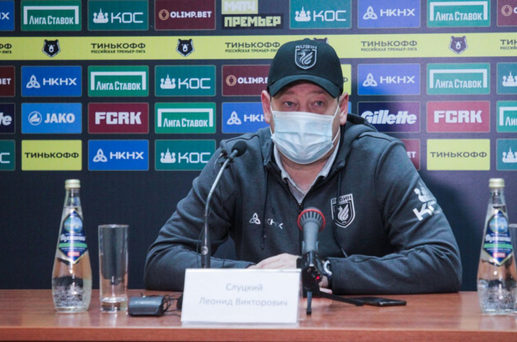 «Рубин» подал протест на 18 судейских решений, Слуцкий обвинил арбитра в травме Кварацхелии