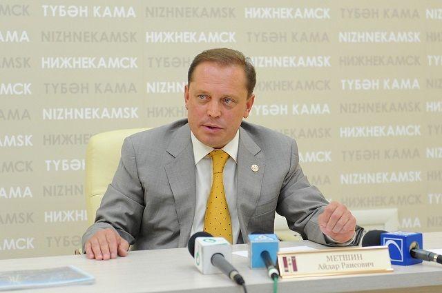 Айдар Метшин планирует баллотироваться в депутаты Госдумы РФ