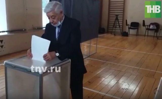 Фарид Мухаметшин принял участие в предварительном голосовании «Единой России»